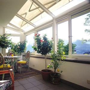 Verande vetrate e coperture verande e vetrate finstral - Chiudere terrazzo ...