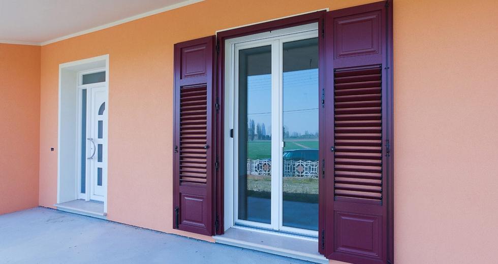 Infissi alluminio bologna serramenti alluminio bologna sol system - Porte finestre bologna ...