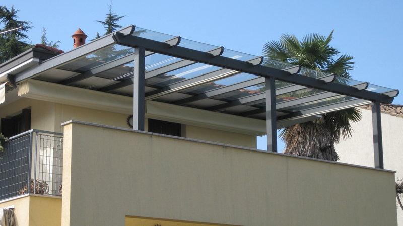 Extrêmement Pergole con copertura Pergolati legno Pergosystem , vendita  GE15