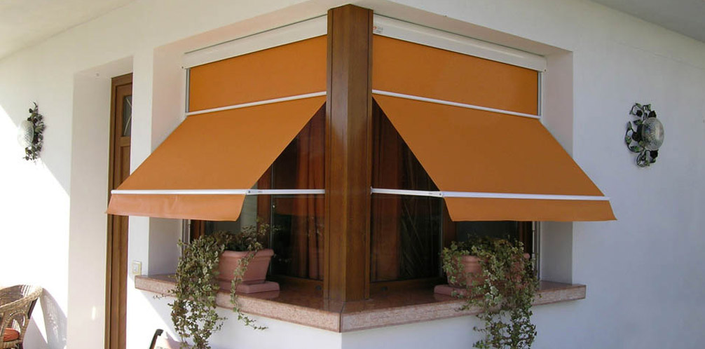 Tende a finestra tenda a caduta duetto gibus atelier - La finestra padova ...